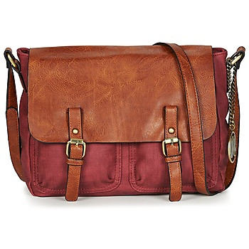 Bags Women Shoulder bags Moony Mood TINA Bordeaux / Cognac