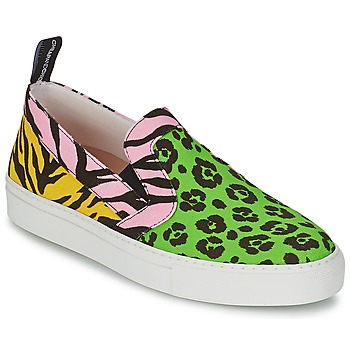 Shoes Women Slip ons Moschino Cheap & CHIC LIDIA Multicoloured