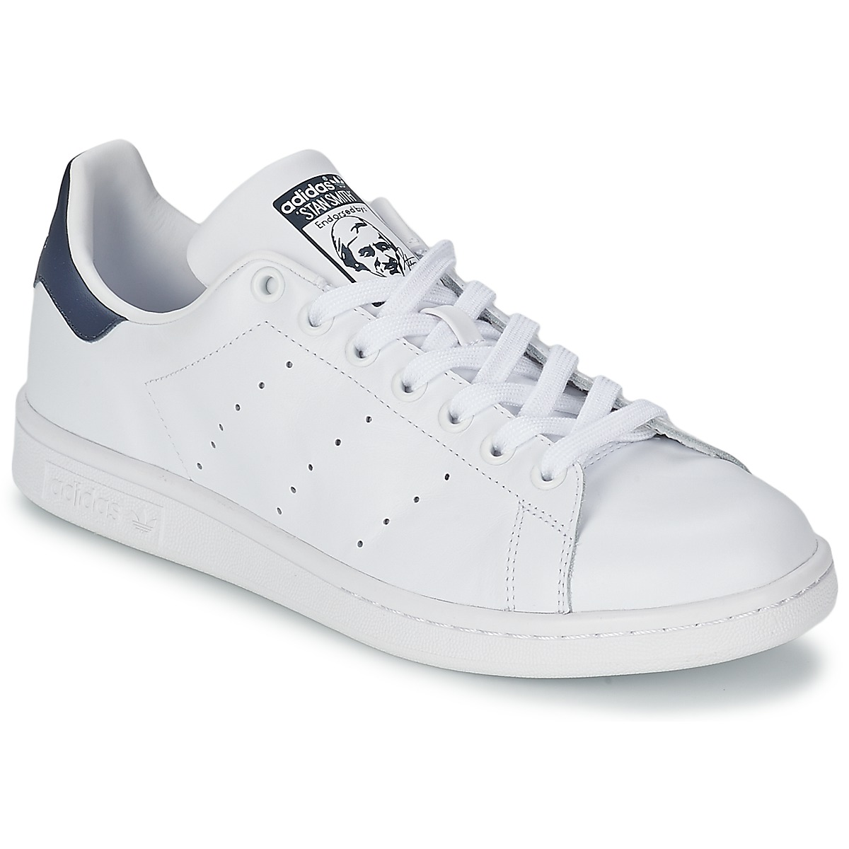 Free Delivery Originals White With Adidas Smith Stan Blue 8n0wOkPX