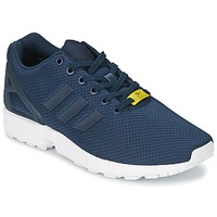Shoes Men Low top trainers adidas Originals ZX FLUX Blue / White