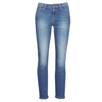 material Women straight jeans Lee ELLY Blue / Medium