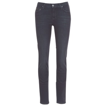 material Women straight jeans Lee ELLY ZIP Black