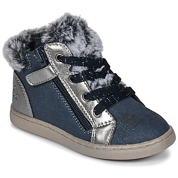 Shoes Girl High top trainers Mod'8 OUMINOU Marine