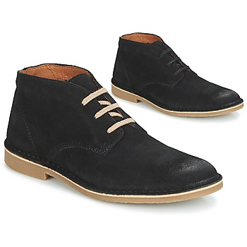 Shoes Men Mid boots Selected ROYCE DESERT SUEDE BOOT Black