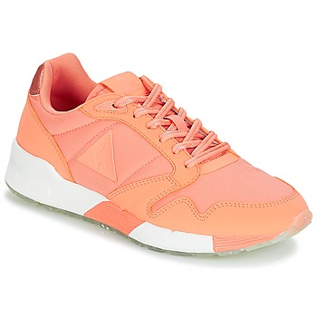 Shoes Women Low top trainers Le Coq Sportif OMEGA X W METALLIC Papaya / Punch