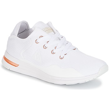 Shoes Women Low top trainers Le Coq Sportif SOLAS W SPARKLY/S LEATHER White