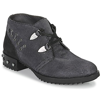 Shoes Women Mid boots Mam'Zelle XESTO Black