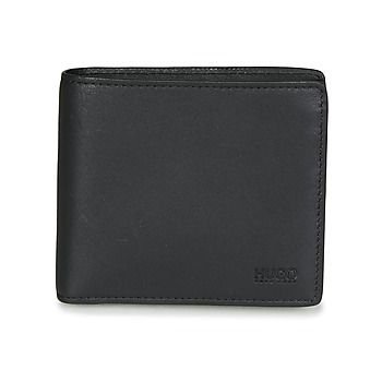 Bags Men Wallets HUGO SUBWAY 4 CC COIN Black