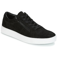 Shoes Men Low top trainers HUGO FUTURISM TENNIS Black