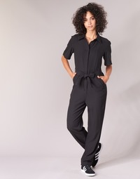material Women Jumpsuits / Dungarees G-Star Raw BRISTUM DC JUMPSUIT Black