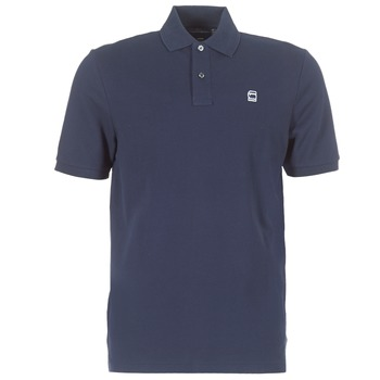 material Men short-sleeved polo shirts G-Star Raw DUNDA POLO Marine