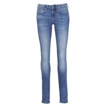 material Women straight jeans G-Star Raw MIDGE MID STRAIGHT Blue / Medium / Indigo / Aged