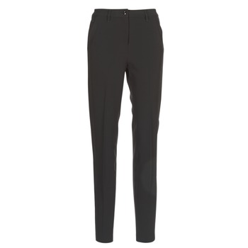 material Women chinos G-Star Raw BRONSON HIGH SKINNY PIPING CHINO Black