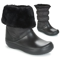 Shoes Women Snow boots Crocs CROCBAND WINTER BOOT Black