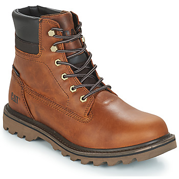 Shoes Men Mid boots Caterpillar DEPLETE WP Brown