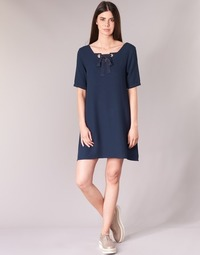 material Women Short Dresses Betty London HOUNI Marine