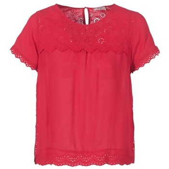 material Women Blouses Betty London JALILI Red