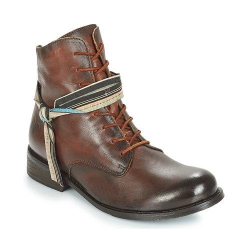Shoes Women Mid boots Felmini SANTIAGO Brown
