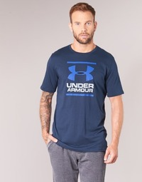 material Men short-sleeved t-shirts Under Armour UA GL FOUNDATION SS T Marine
