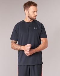 material Men short-sleeved t-shirts Under Armour UA TECH SS TEE Black