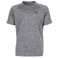 material Men short-sleeved t-shirts Under Armour UA TECH SS TEE Grey