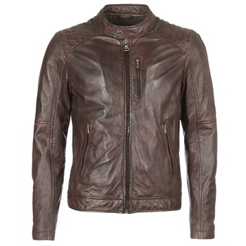 material Men Leather jackets / Imitation le Oakwood AGENCY Brown