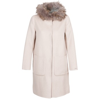 material Women coats Oakwood YALE BI Beige / Grey