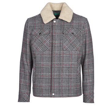material Men coats Benetton MADRILA Grey