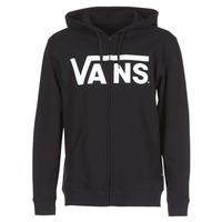 material Men sweaters Vans VANS CLASSIC ZIP HOODIE Black