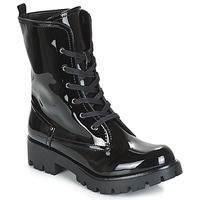 Shoes Women Mid boots Buffalo SKYLIGHT Black / Varnish