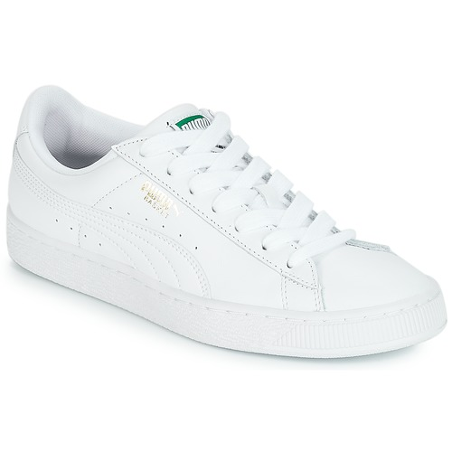 780bdbff4194 Puma BASKET CLASSIC LFS.WHT White - Free delivery with Spartoo NET ...