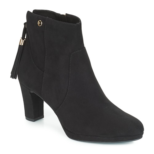 Shoes Women Ankle boots Tamaris MAURA Black