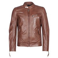 material Men Leather jackets / Imitation le Redskins TRUST CASTING Brown