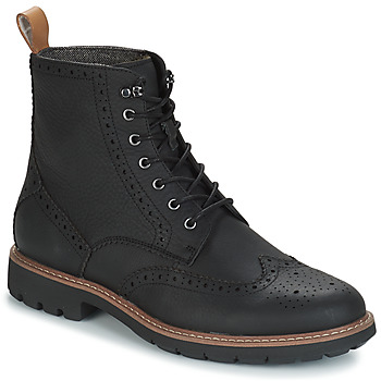Shoes Men Mid boots Clarks BATCOMBE Black