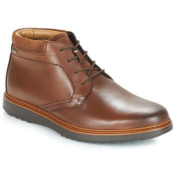 Shoes Men Mid boots Clarks UN Brown
