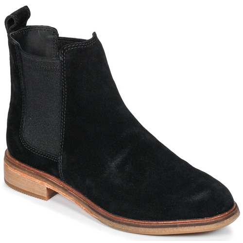 Shoes Women Mid boots Clarks CLARKDALE  black / Sde