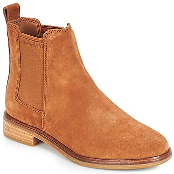 Shoes Women Mid boots Clarks CLARKDALE Camel