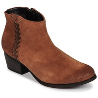 Shoes Women Ankle boots Clarks MAYPEARL Dark / Tan / Suede
