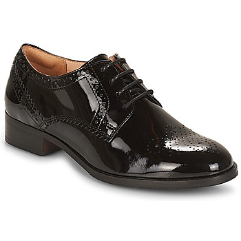 Shoes Women Derby shoes Clarks Netley Rose  black / Pat