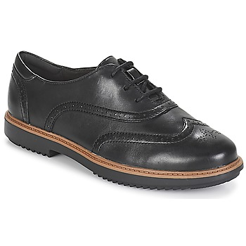 Shoes Women Brogue shoes Clarks Raisie Hilde  black