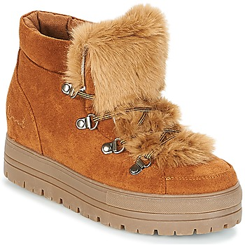 Shoes Women Mid boots Coolway OSLO Camel