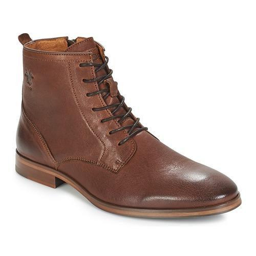 Shoes Men Mid boots Kost NICHE 1 Cognac