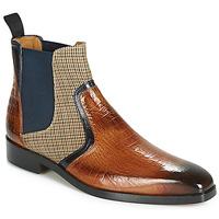 Shoes Men Mid boots Melvin & Hamilton LEWIS 26 Brown / Marine
