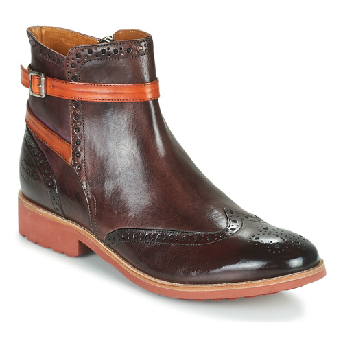 Shoes Women Mid boots Melvin & Hamilton AMELIE 11 Brown