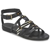 Shoes Women Sandals Vic GINKO ACHANTUS Black