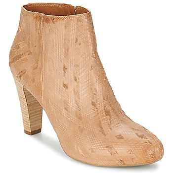 Shoes Women Ankle boots Vic RIBE INTAGLIATO Brown