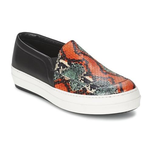 Shoes Women Slip ons McQ Alexander McQueen DAZE Black / Multicolour