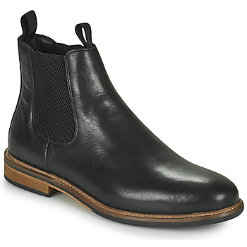 Shoes Men Mid boots Schmoove PILOT CHELSEA Black