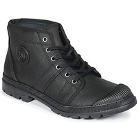 Shoes Women Mid boots Pataugas Authentique TE Black