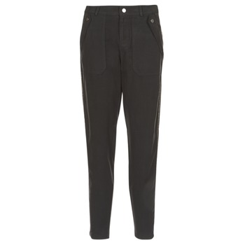 material Women Cargo trousers Ikks MIRSSEEP Black